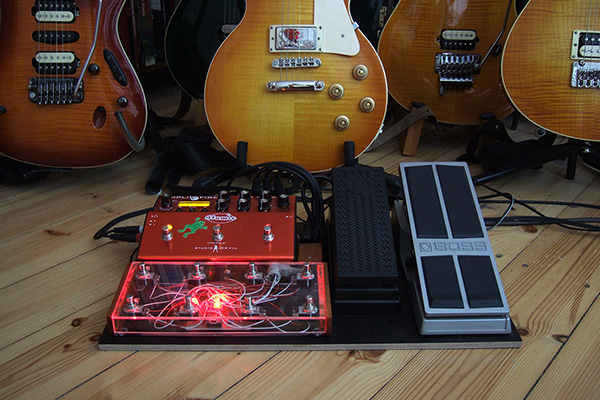 My Atomic AmpliFire Pedal Board